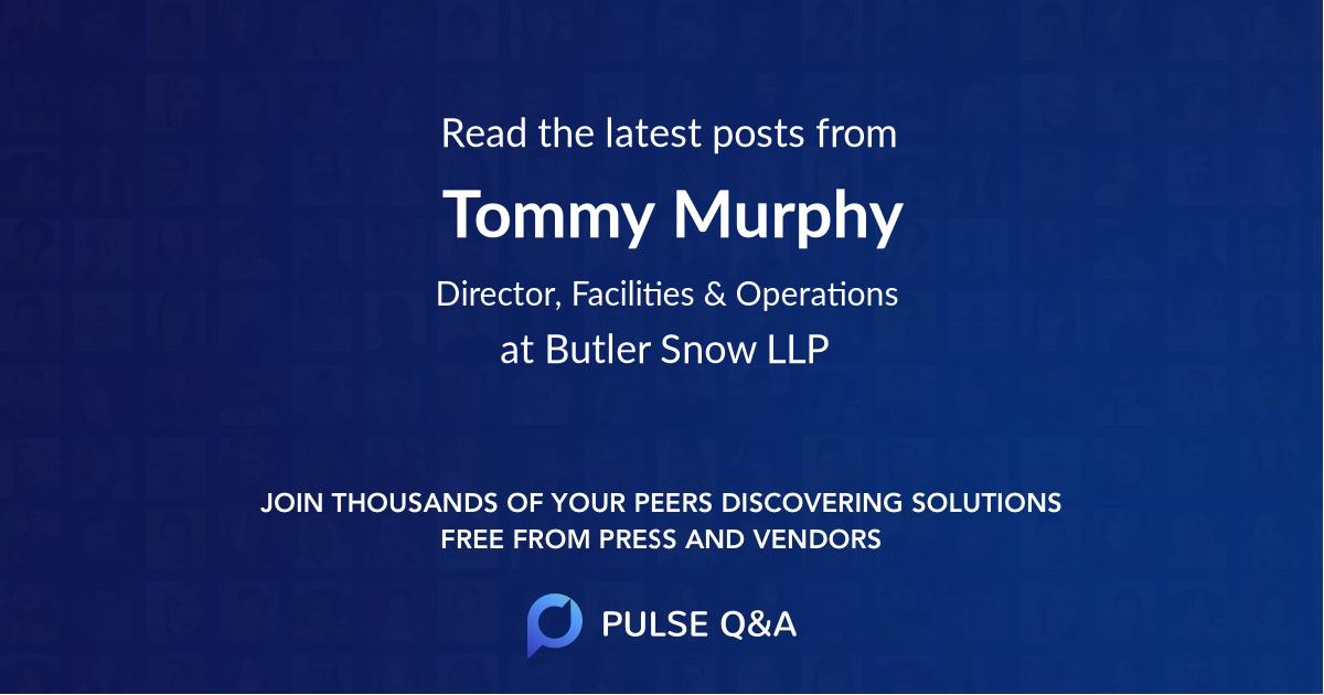 Tommy Murphy