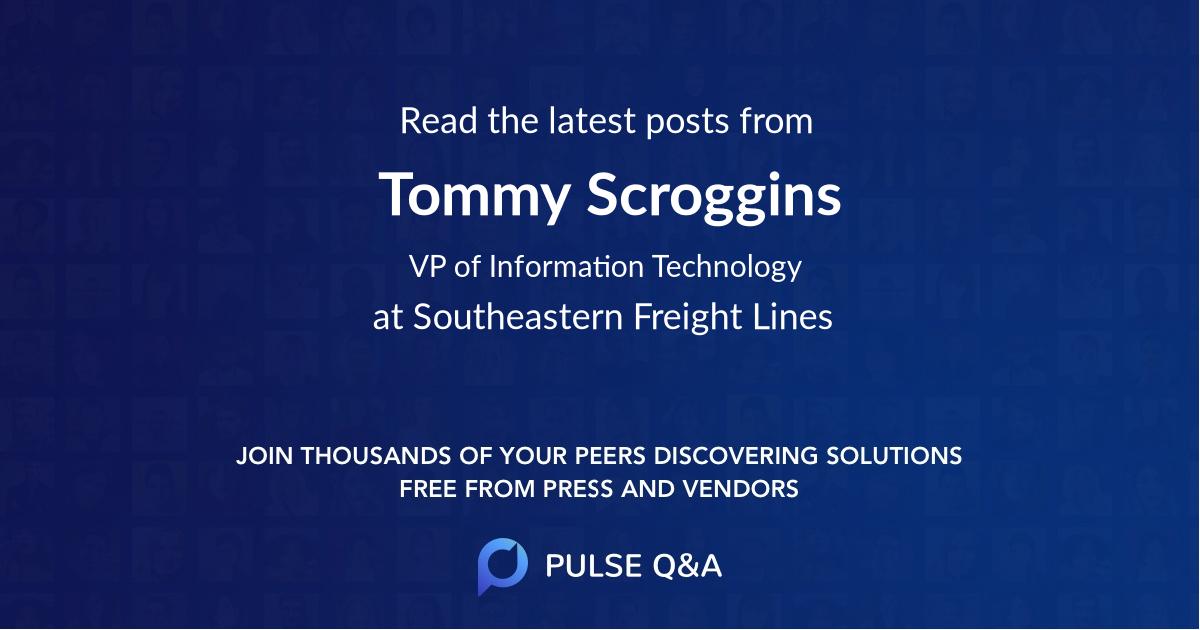 Tommy Scroggins