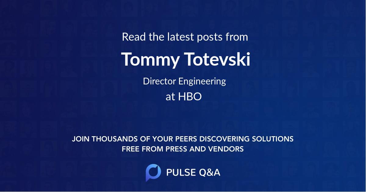 Tommy Totevski