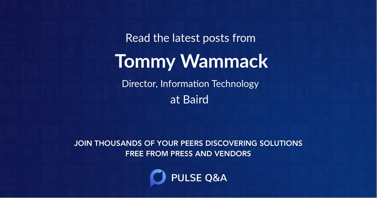 Tommy Wammack