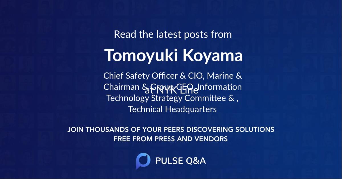 Tomoyuki Koyama