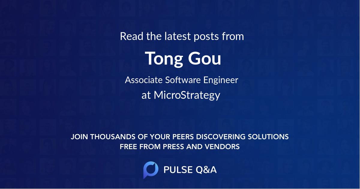 Tong Gou