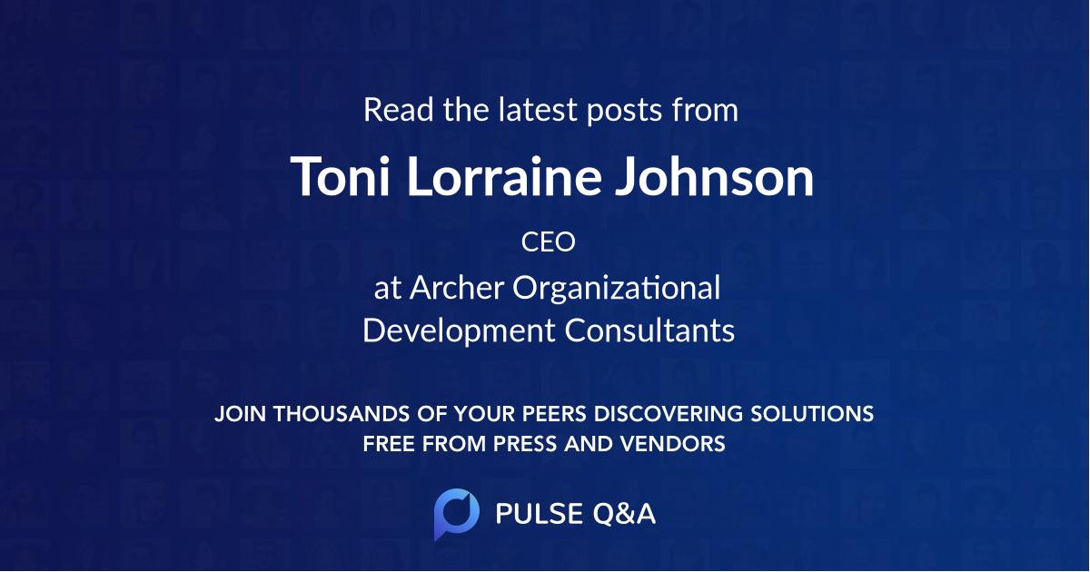 Toni Lorraine Johnson