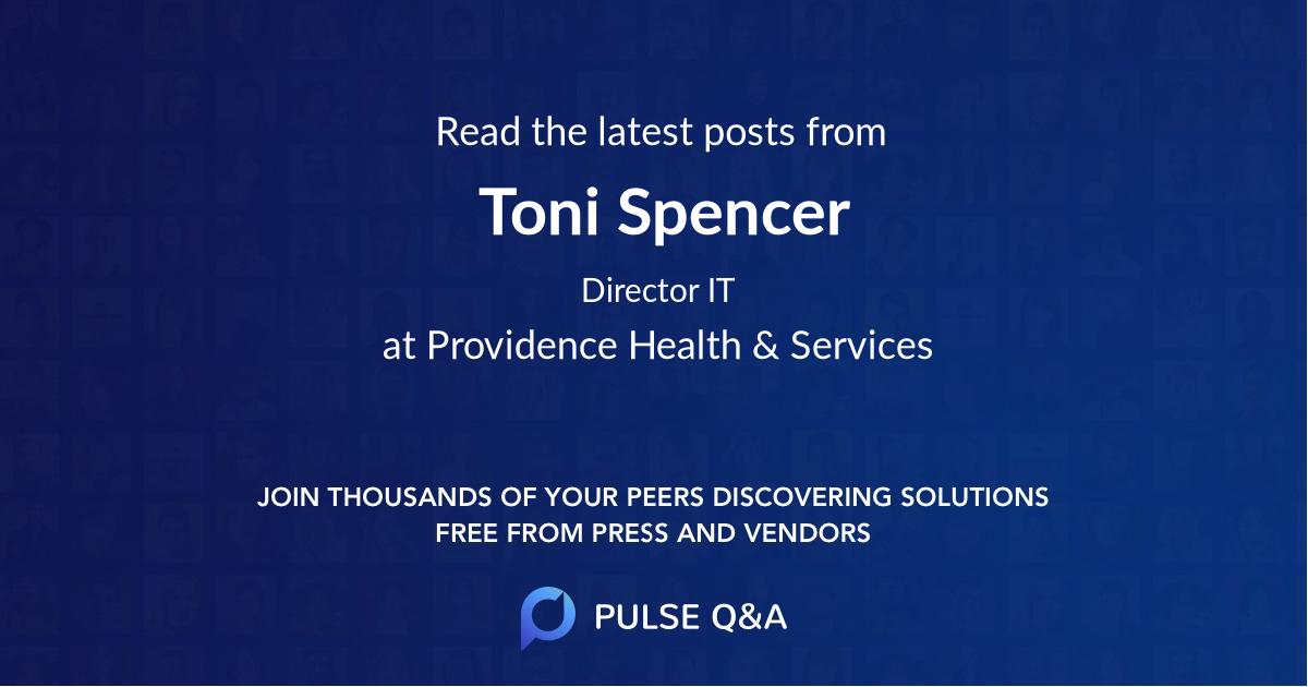 Toni Spencer