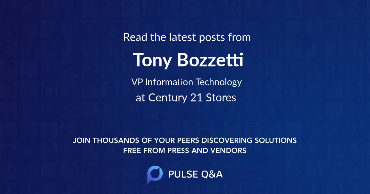 Tony Bozzetti