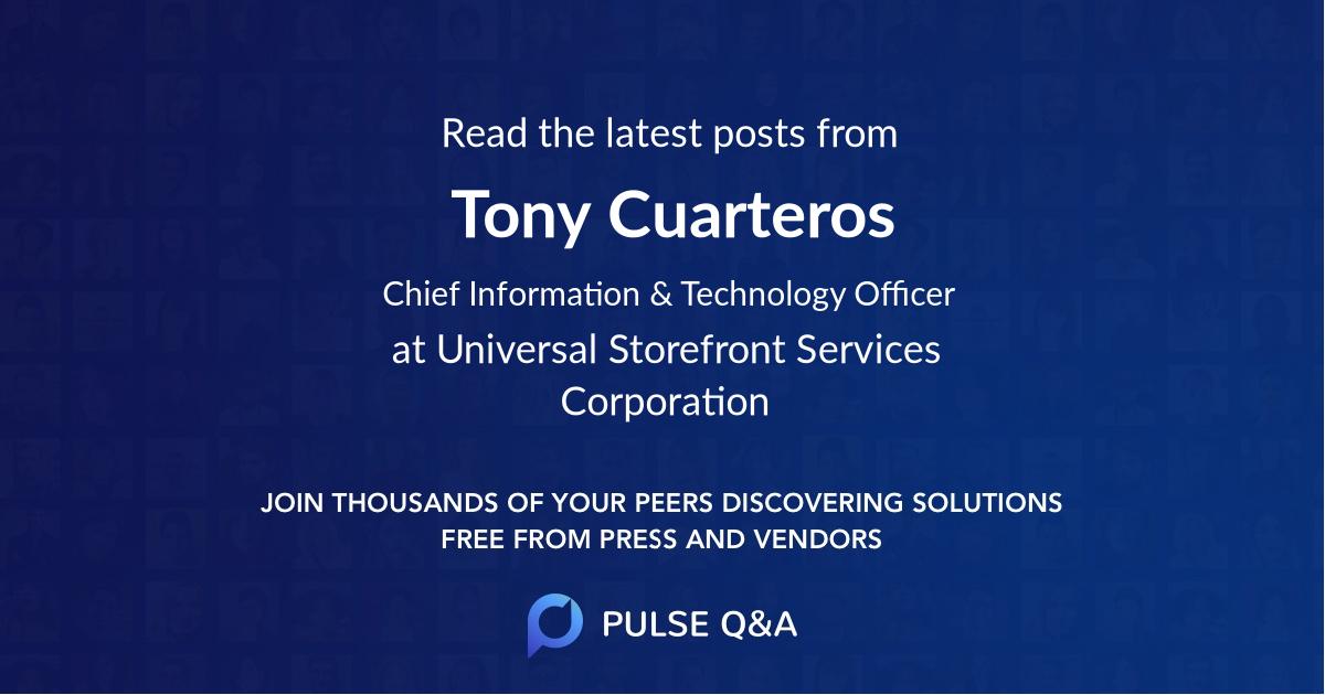 Tony Cuarteros