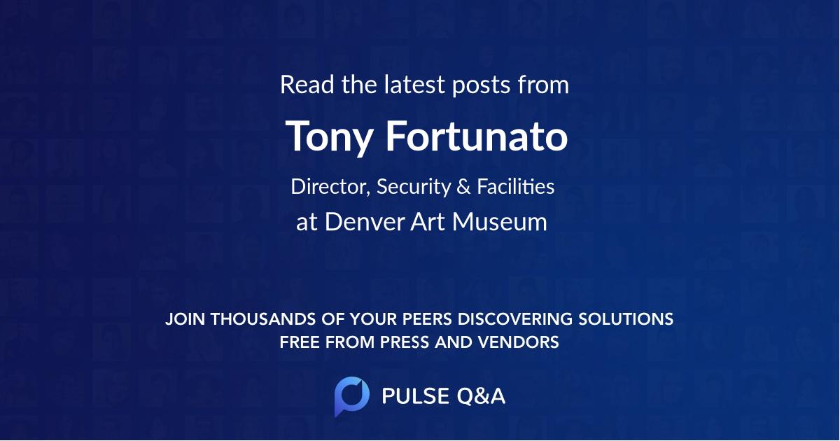 Tony Fortunato