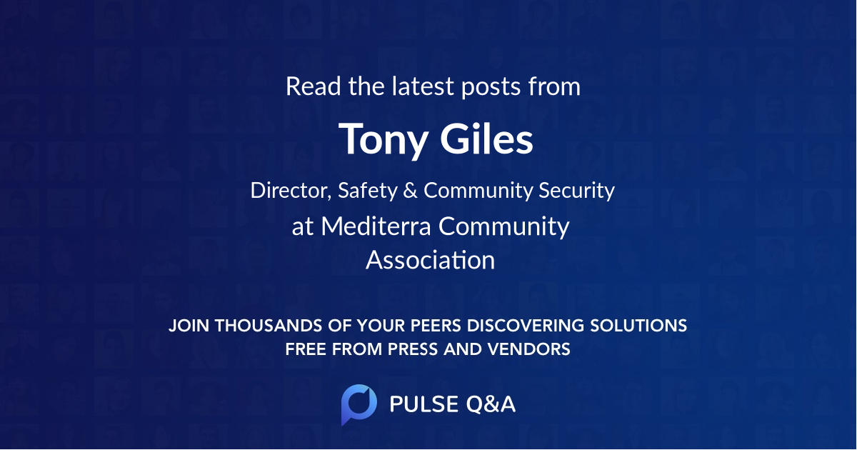 Tony Giles