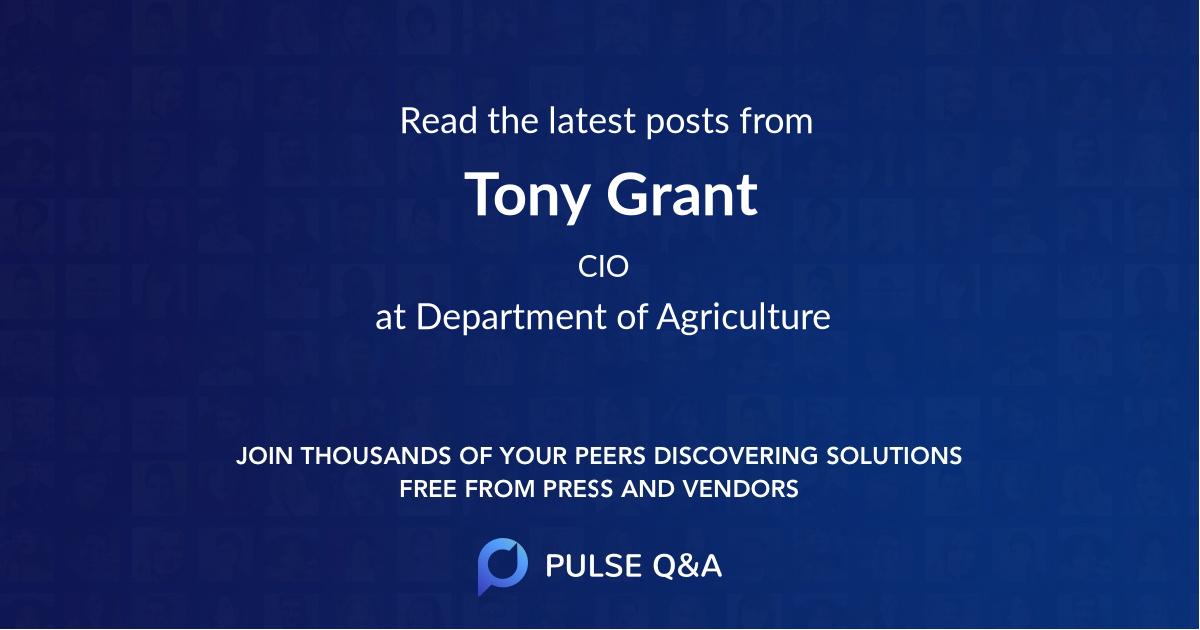 Tony Grant