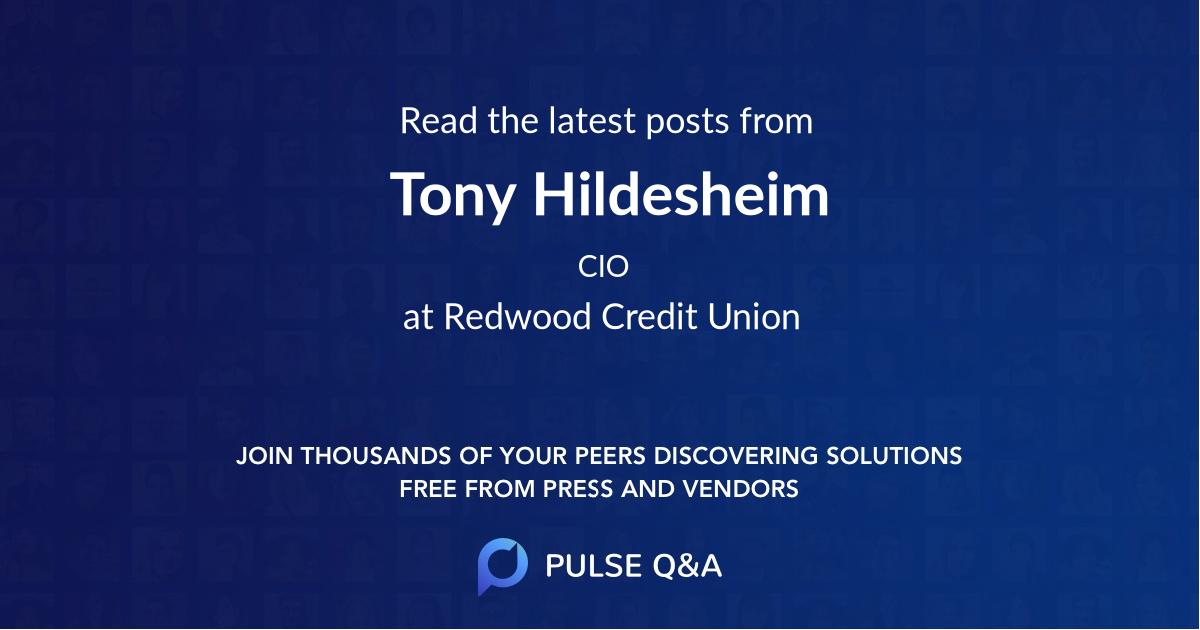 Tony Hildesheim