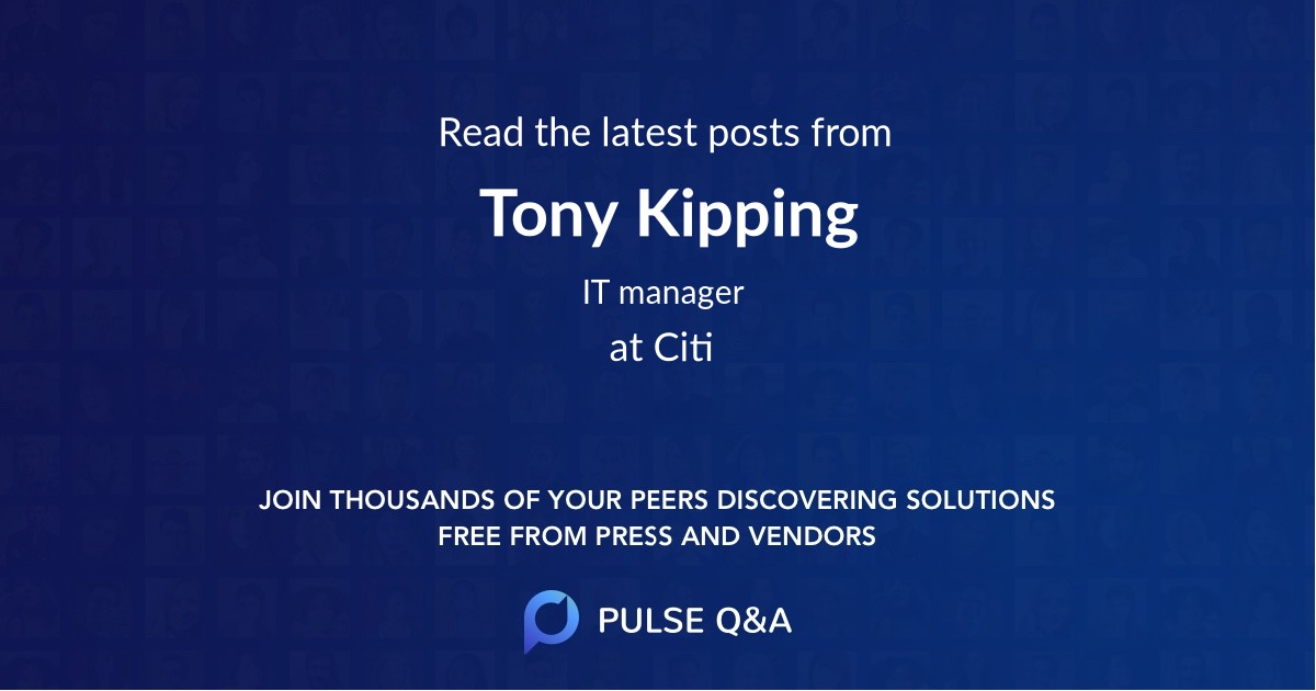 Tony Kipping