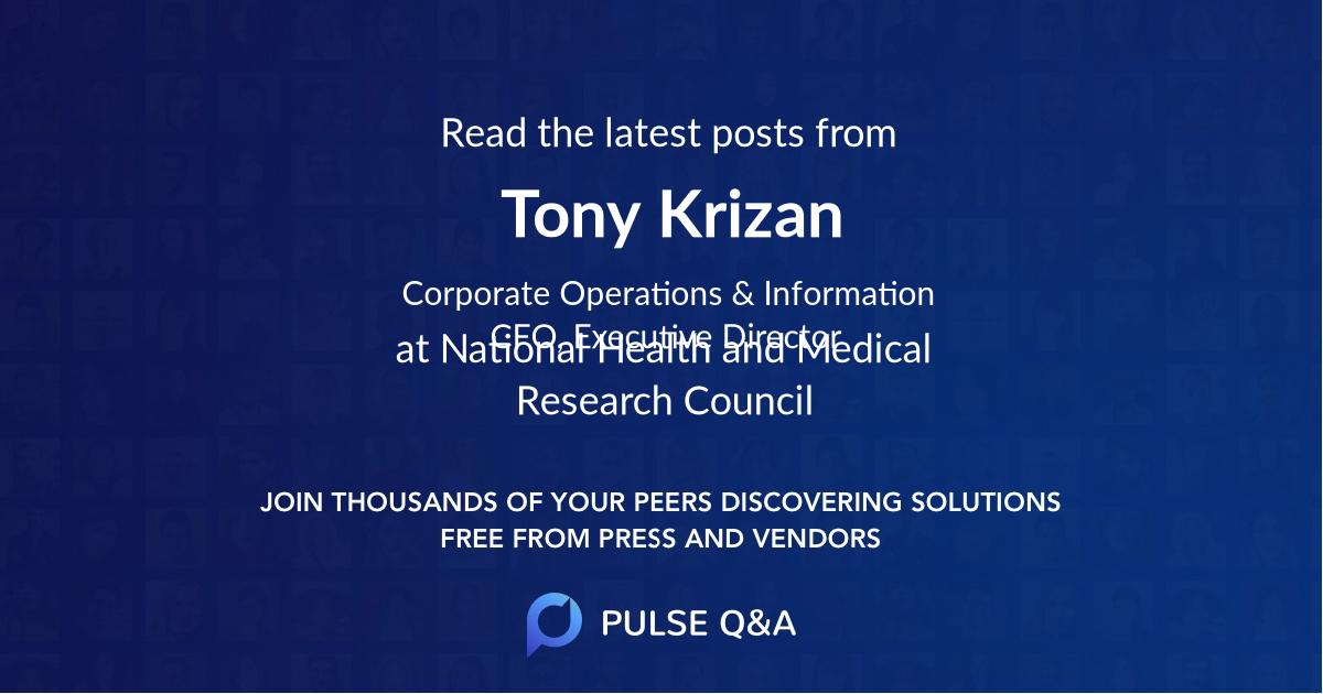 Tony Krizan