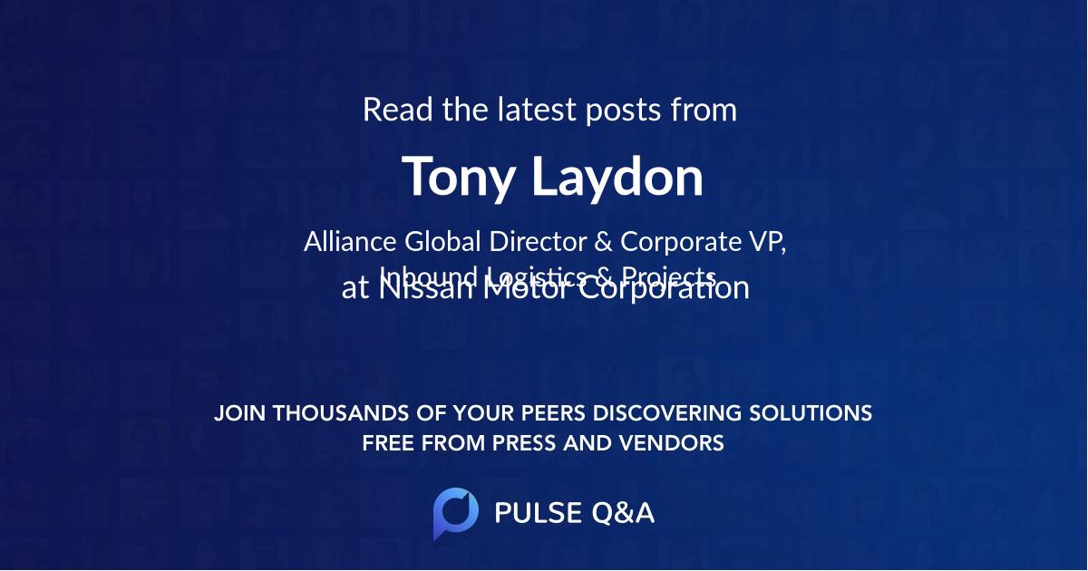 Tony Laydon