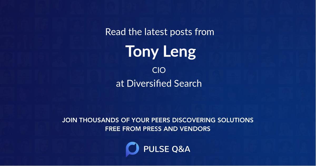 Tony Leng