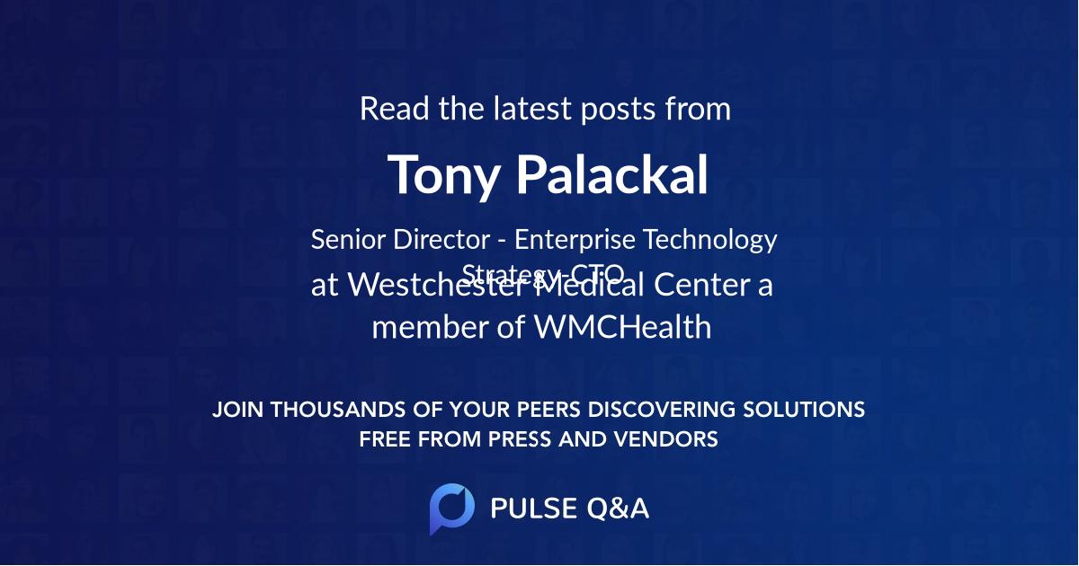 Tony Palackal