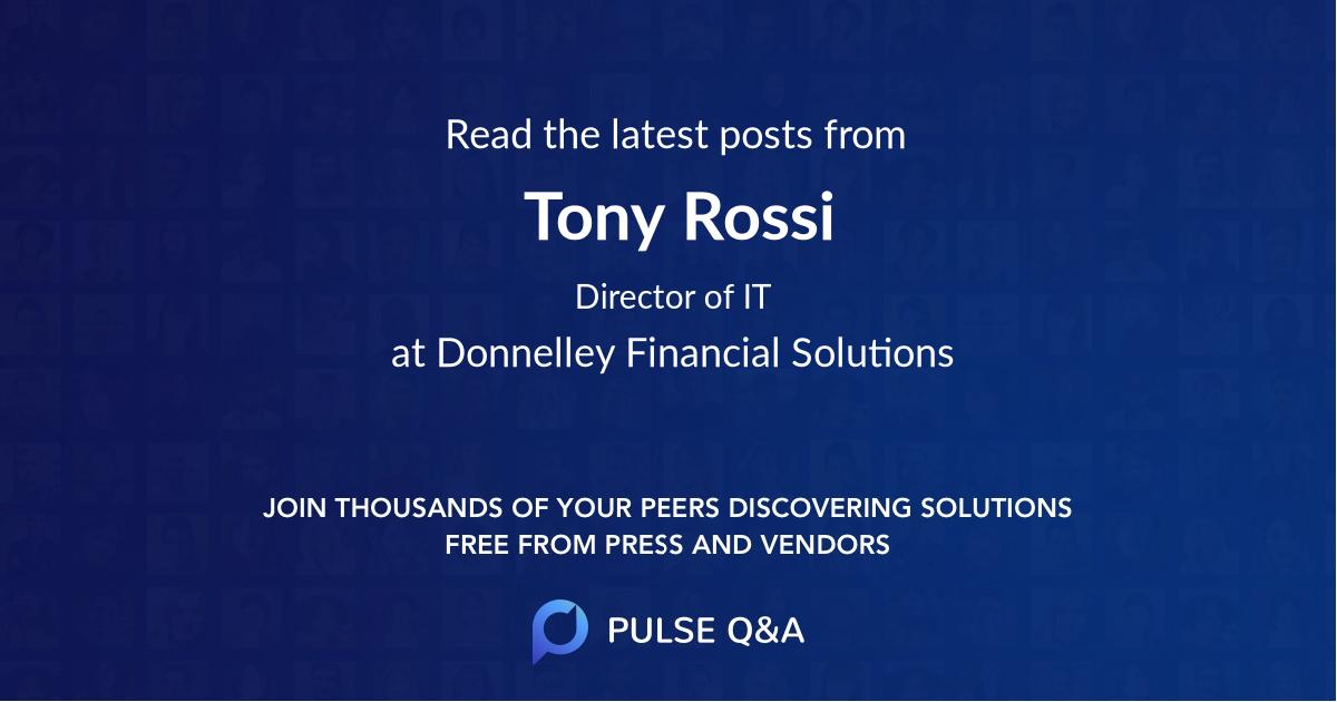 Tony Rossi