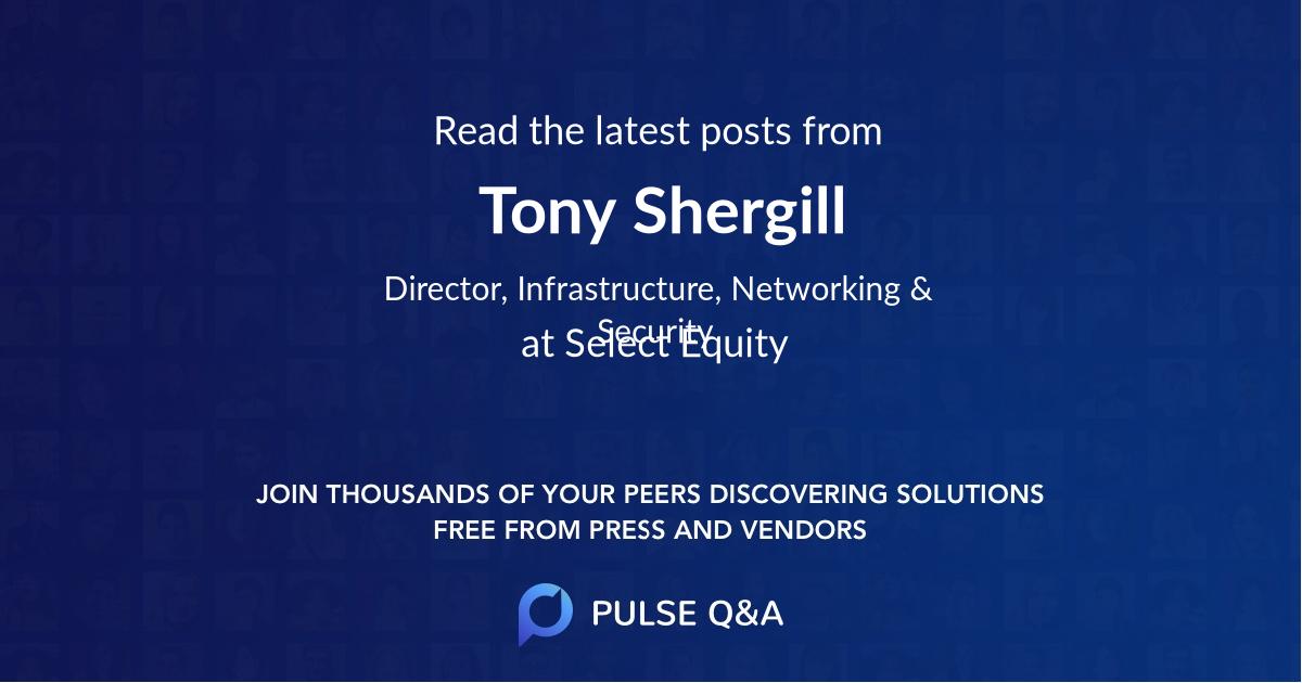 Tony Shergill