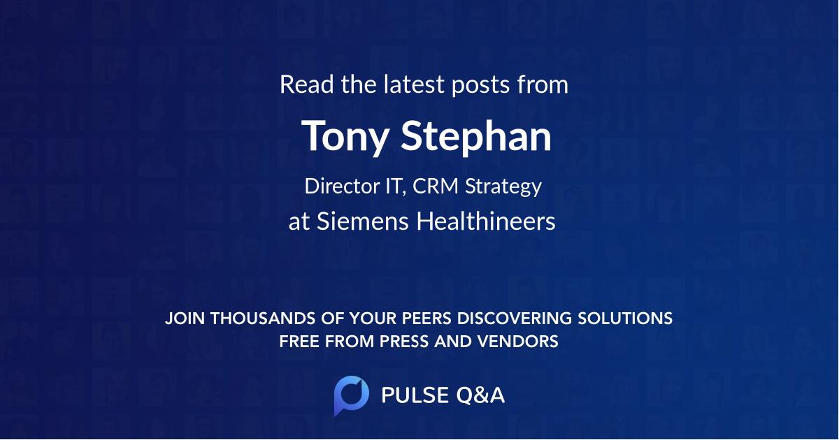 Tony Stephan