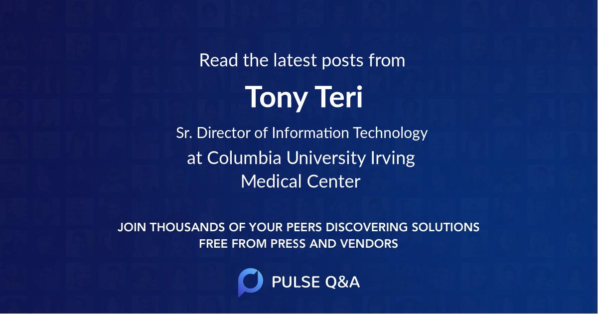 Tony Teri