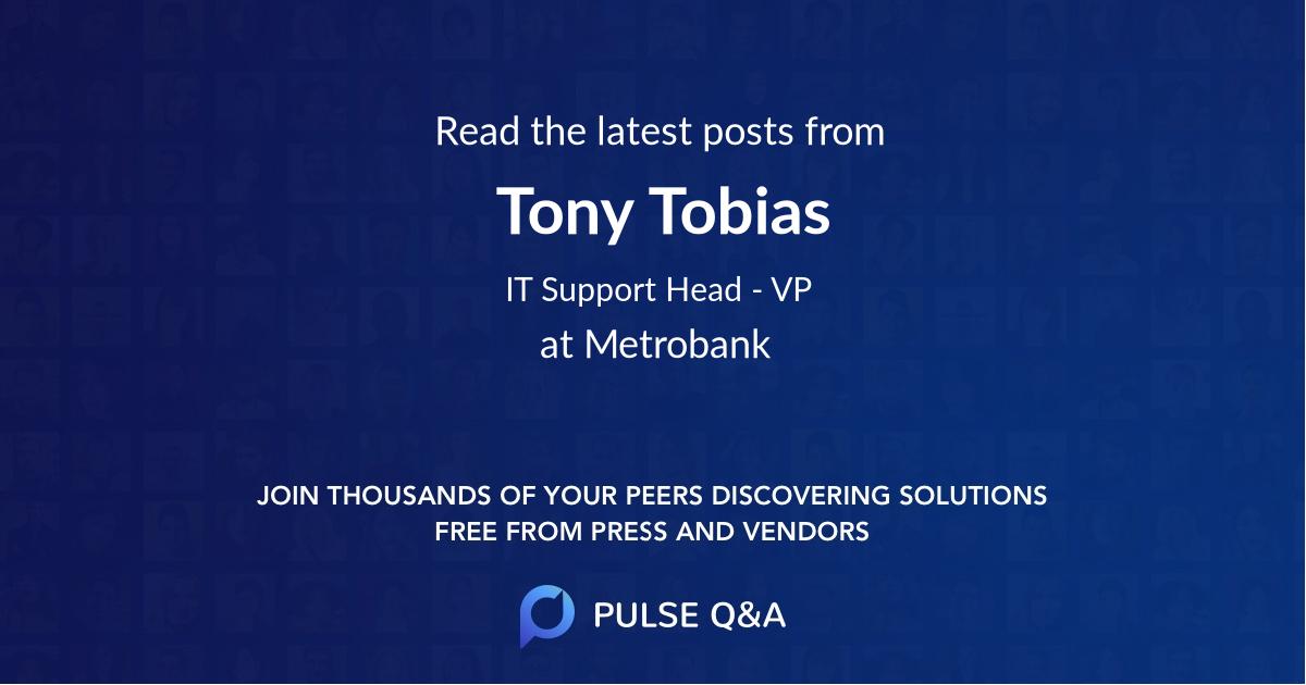 Tony Tobias