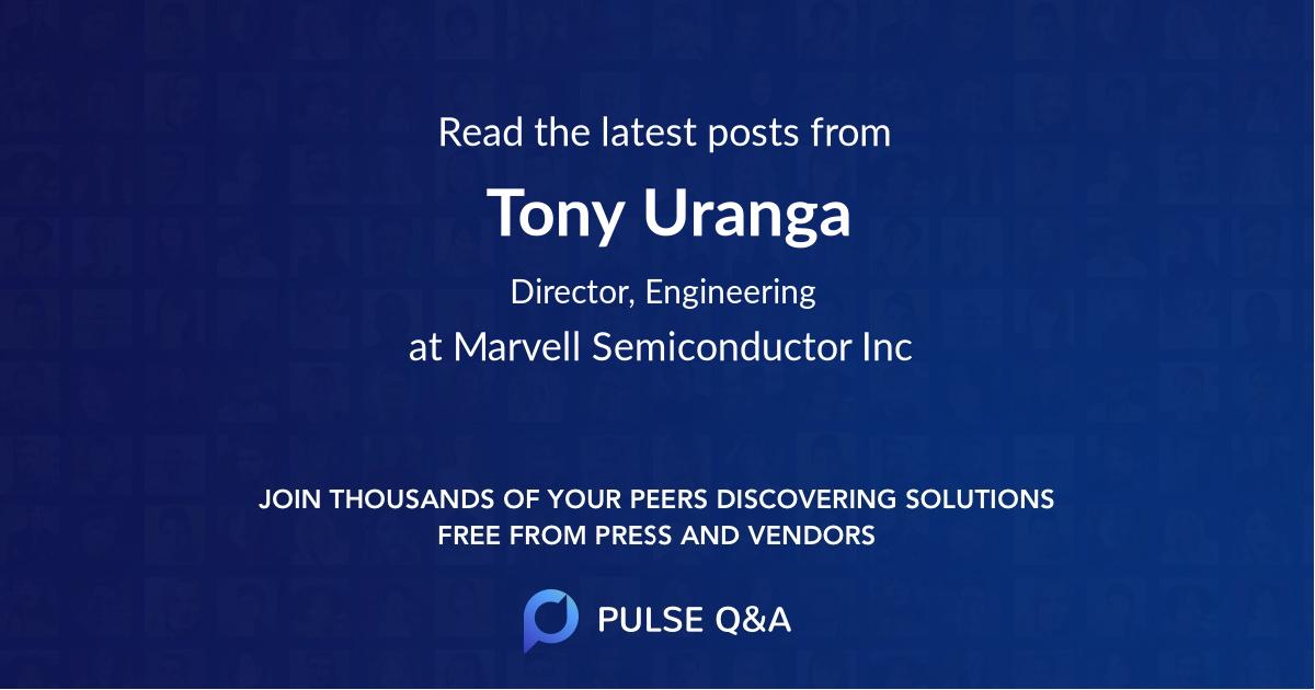 Tony Uranga