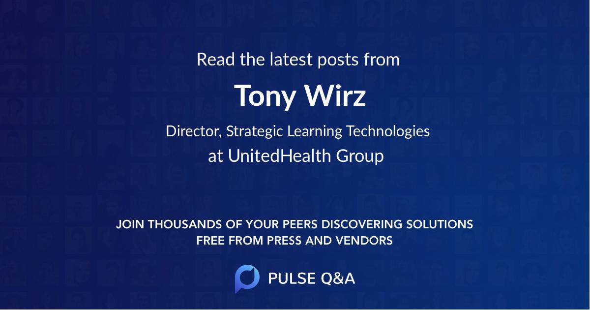 Tony Wirz