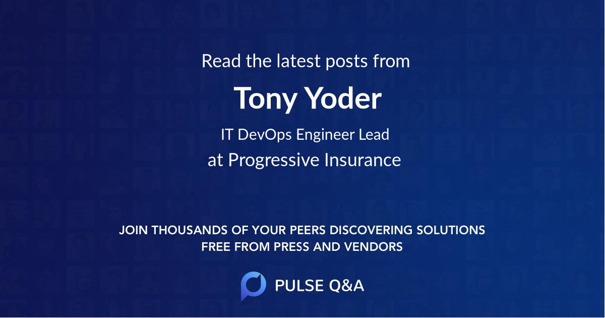 Tony Yoder
