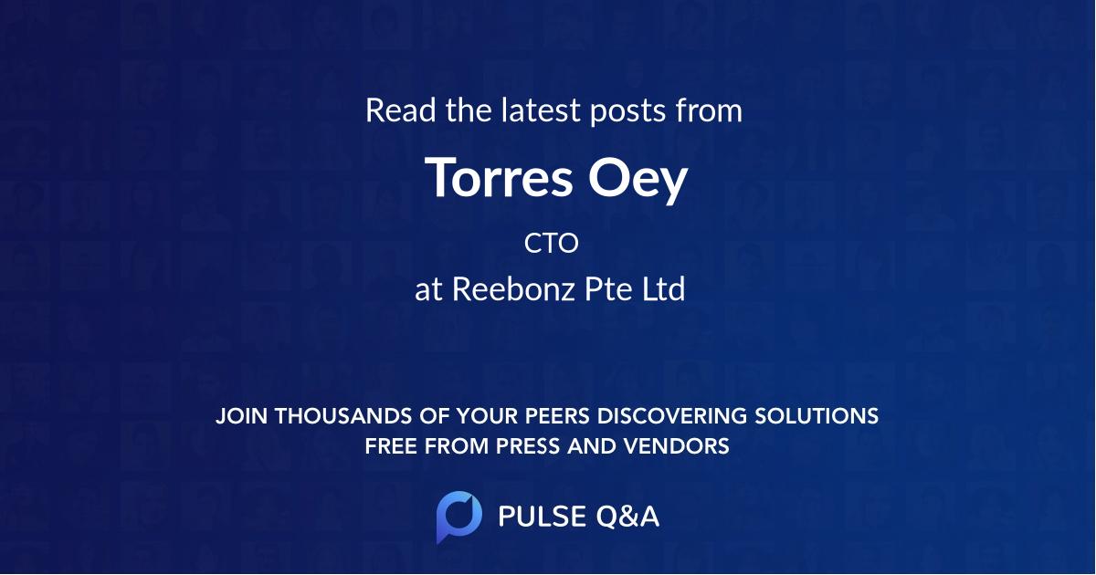 Torres Oey