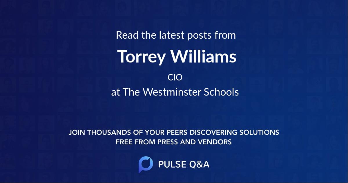 Torrey Williams