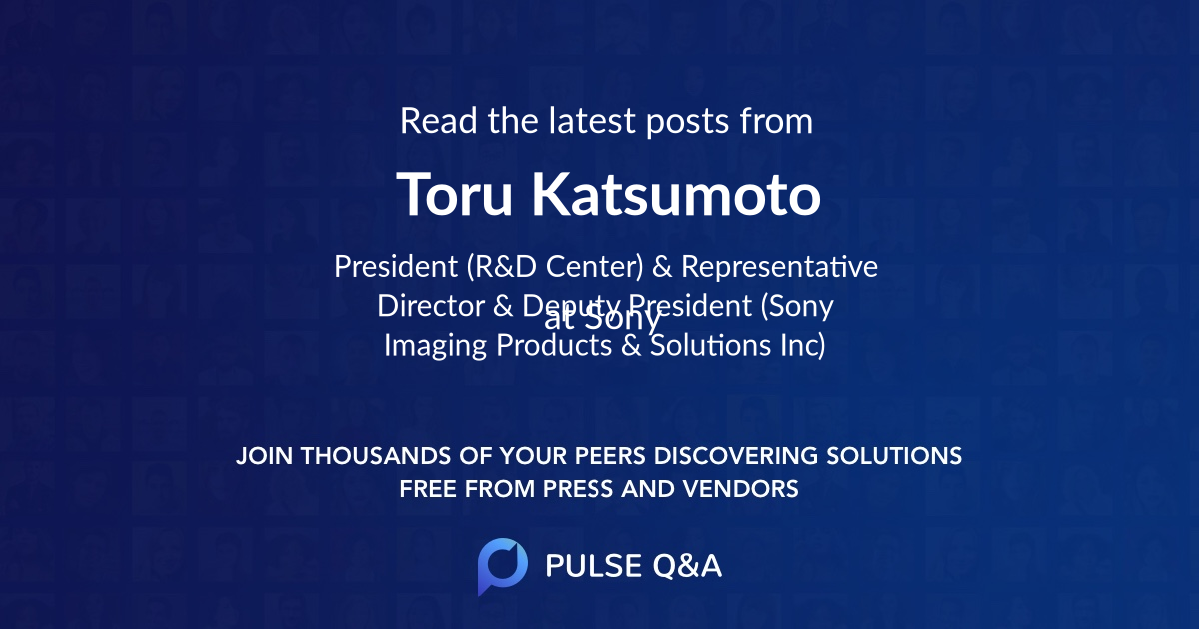 Toru Katsumoto