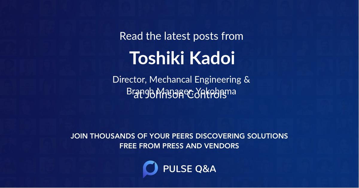 Toshiki Kadoi