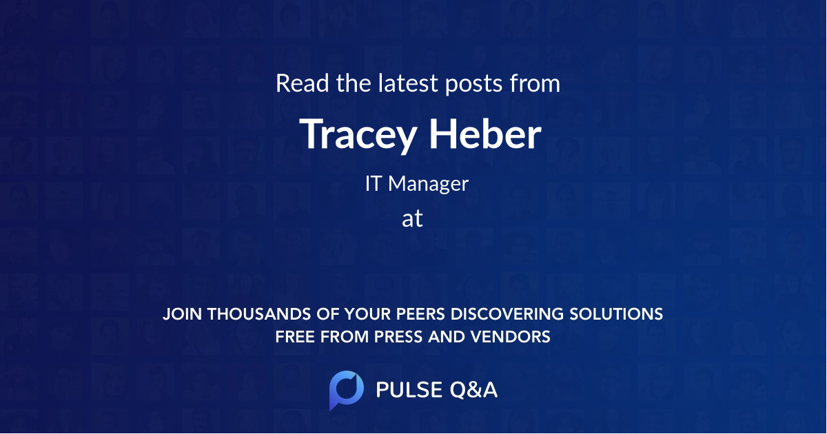Tracey Heber
