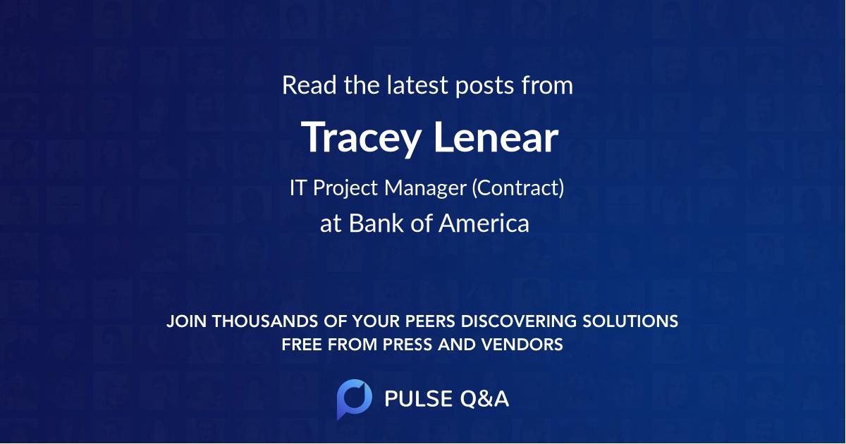 Tracey Lenear
