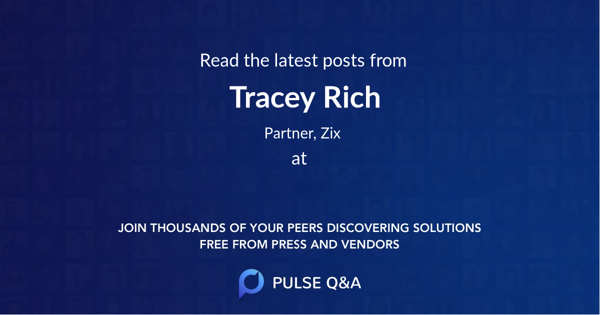 Tracey Rich