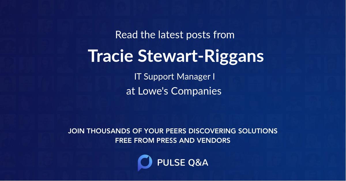 Tracie Stewart-Riggans