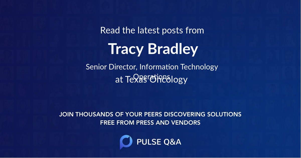 Tracy Bradley