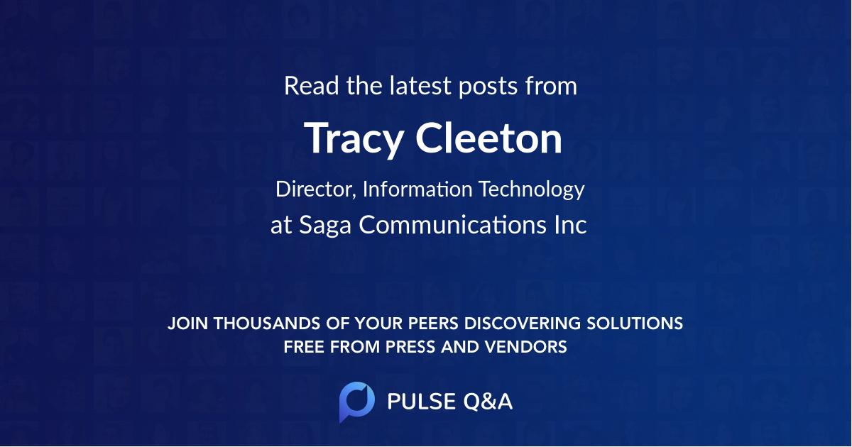 Tracy Cleeton