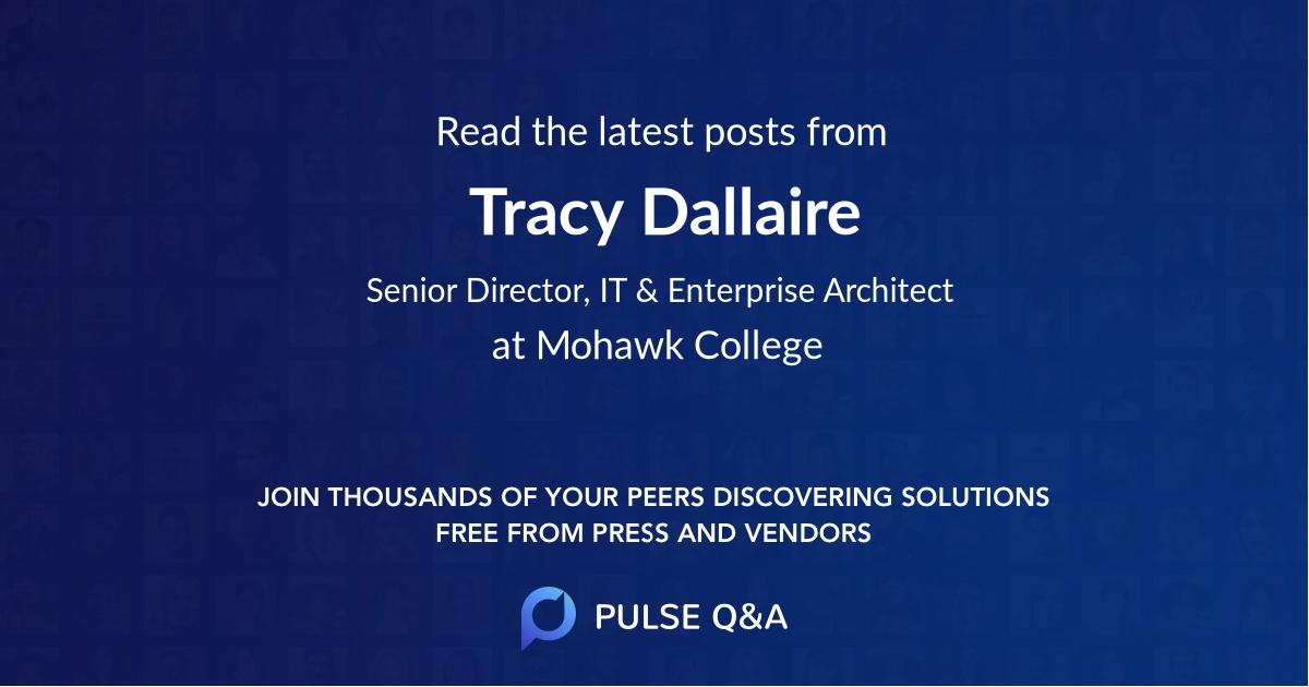 Tracy Dallaire