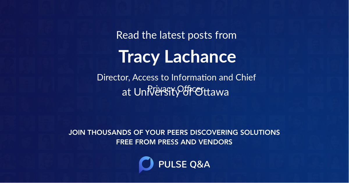Tracy Lachance