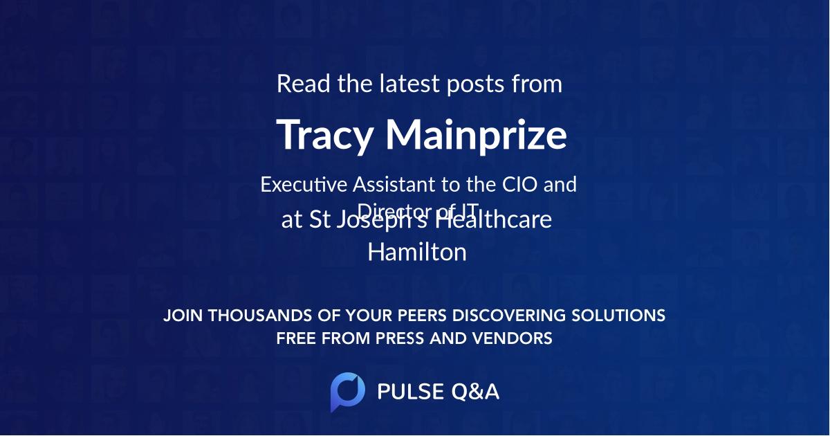 Tracy Mainprize