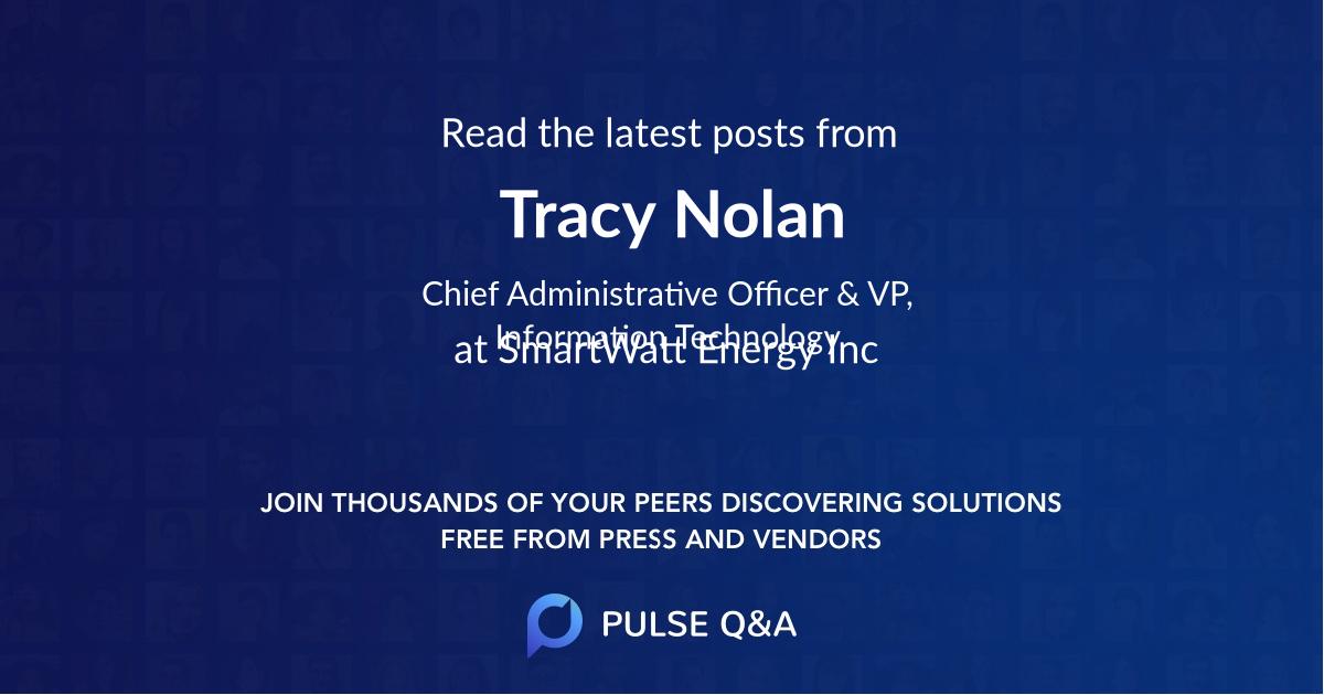 Tracy Nolan