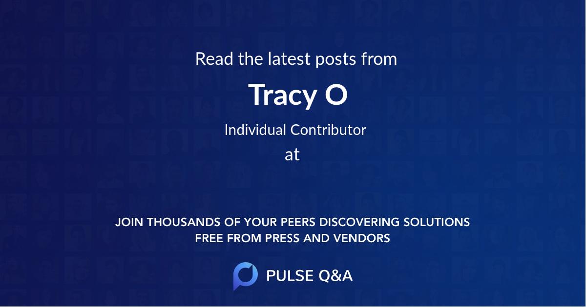 Tracy O