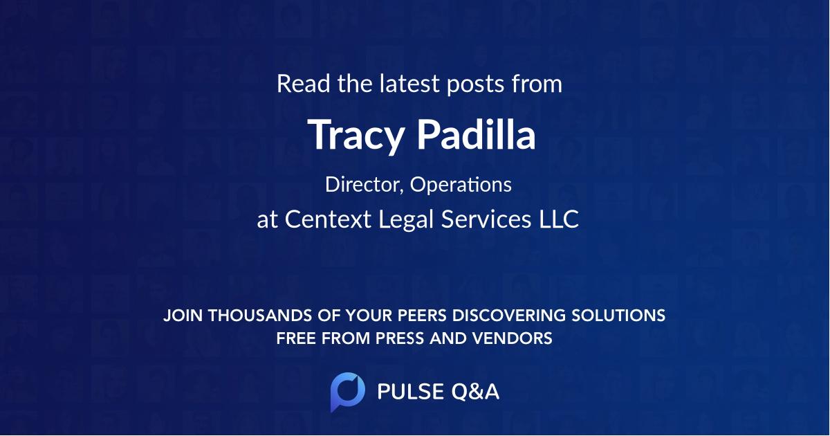 Tracy Padilla