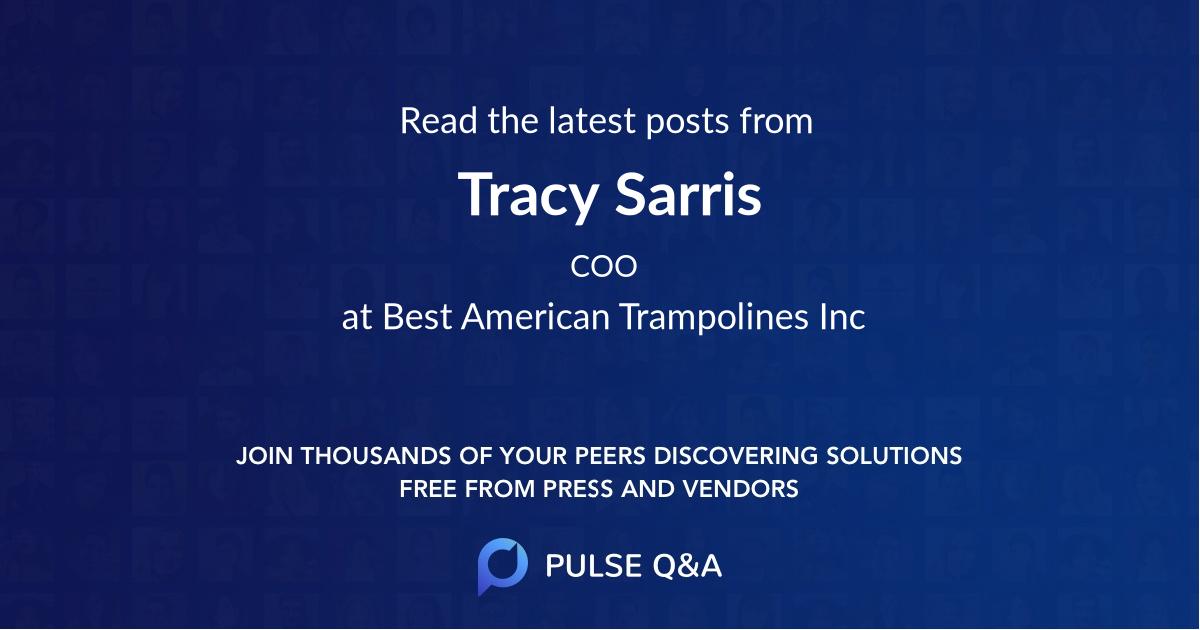 Tracy Sarris