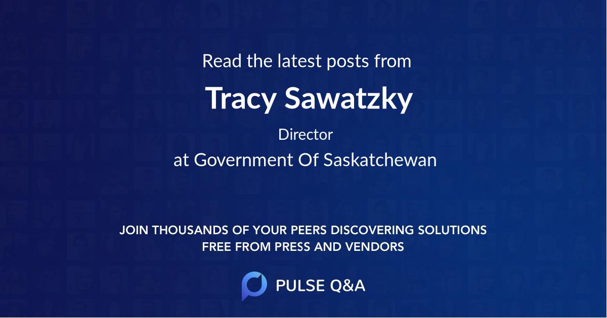 Tracy Sawatzky