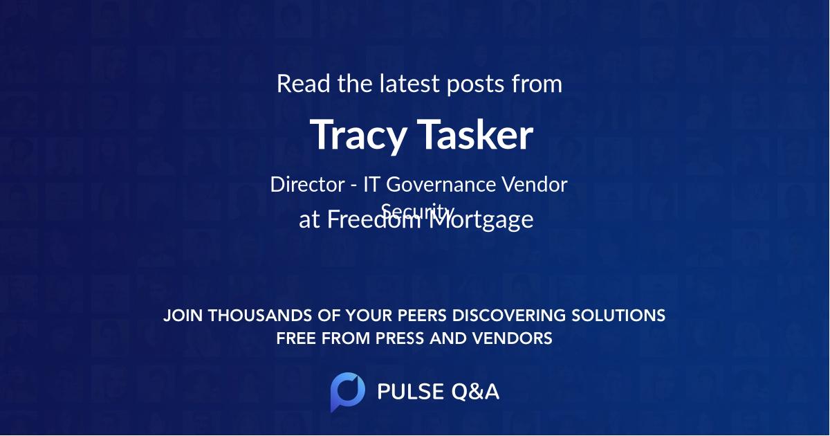Tracy Tasker