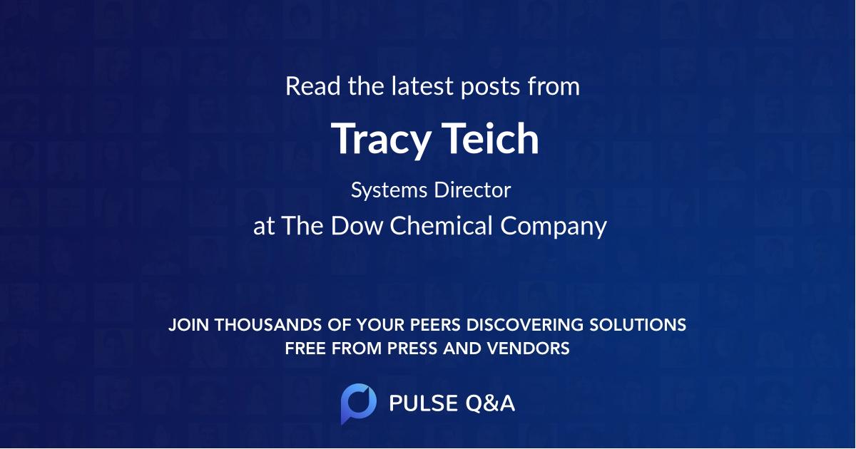Tracy Teich