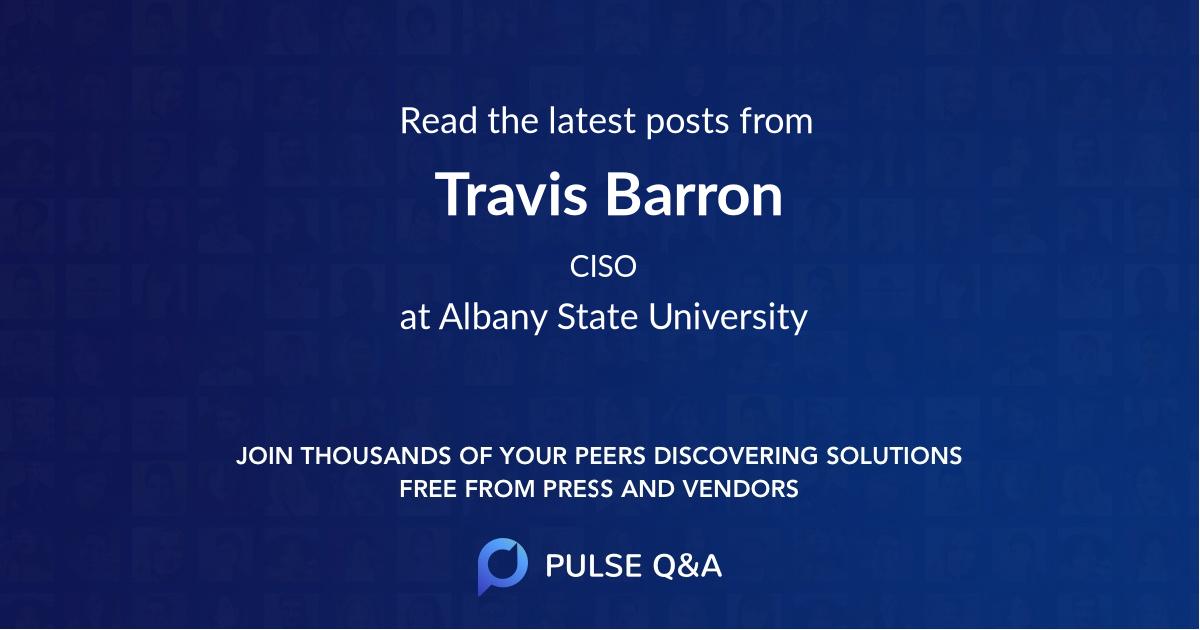 Travis Barron