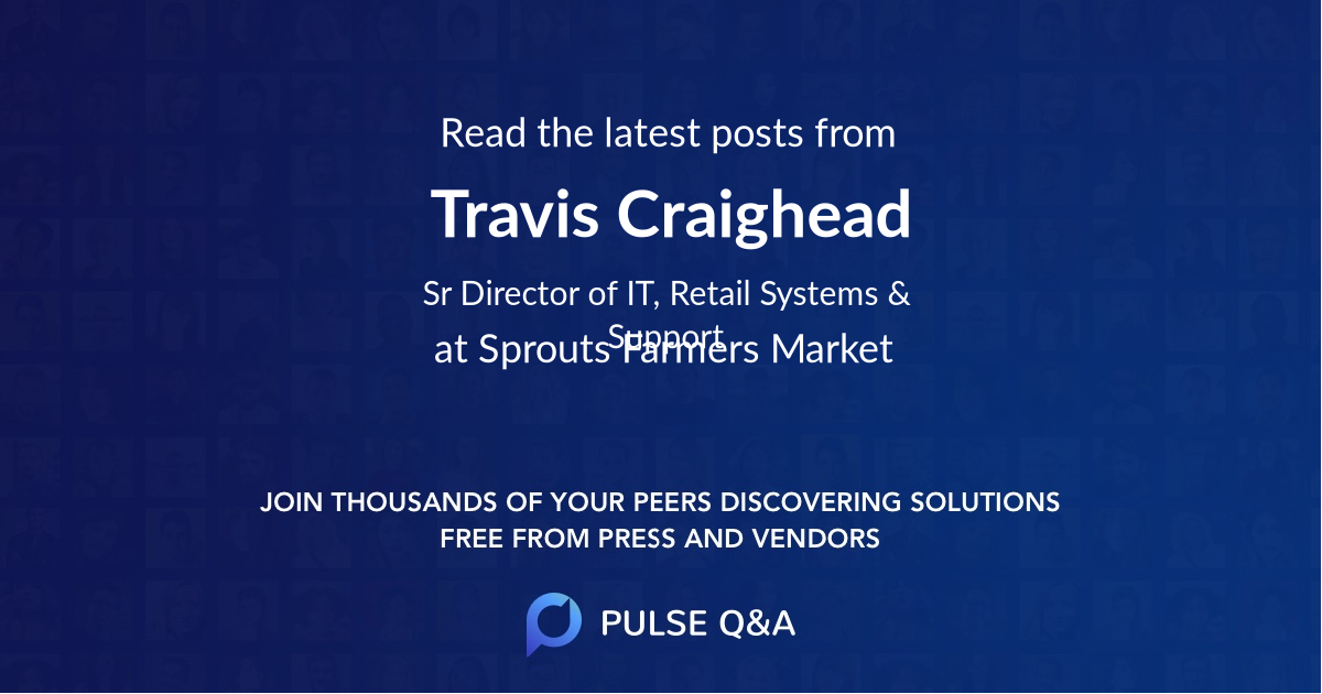 Travis Craighead