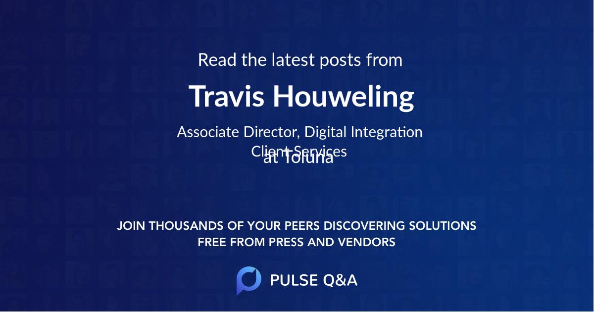 Travis Houweling